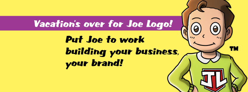 Vacation's over for Joe Logo!